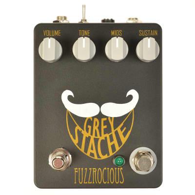 Fuzzrocious Grey Stache Muff Fuzz w/Diodes + Killswitch CME Exclusive Black/Orange