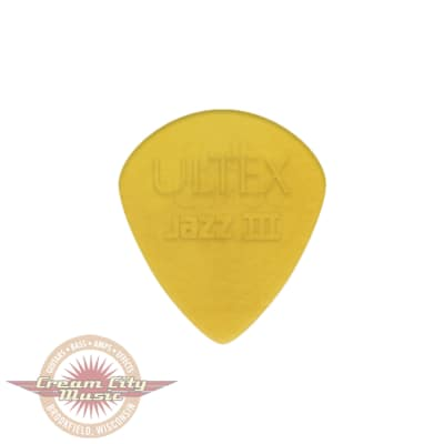 Dunlop 427P138 Ultex Jazz III 1.38mm Guitar Picks (6-Pack)