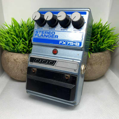 DOD Stereo Flanger FX75-B Vintage Made in USA for sale