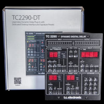 TC Electronic TC2290-DT Dynamic Digital Delay Desktop Plugin Interface