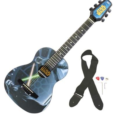 Peavey Star Wars Classic Luke vs. Vader 1/2 Size Student Acoustic 18 Fret First Beginner Guitar for sale