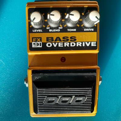 Rare DOD Fx 91 Bass Overdrive Vintage for sale