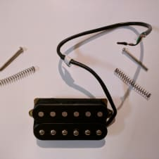 DiMarzio DP160FBK Norton F-Spaced Humbucker Black
