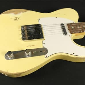 Fender Custom Shop Limited 1967 Masterbuilt Heavy Relic Telecaster - Dennis Galucza for sale