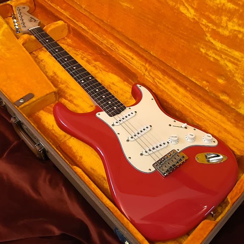 Fender Custom Shop 1960 Reissue Stratocaster NOS Fiesta Red 2006