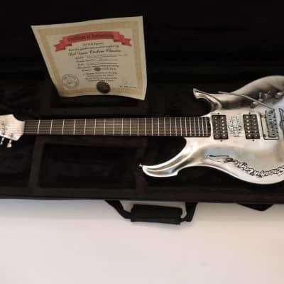 Del Duca Custom Classics Alumax Two Harley Davison Screaming Eagle Guitar & Case 2021 Custom for sale