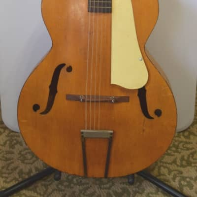 Vintage blonde Playtime Archtop  1940's or 1950's hollowbody
