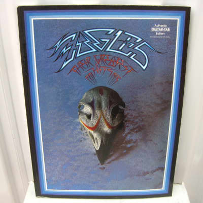 Eagles Their Greatest Hits 1971-1975 Sheet Music Song Book Songbook Guitar Tab Tablature
