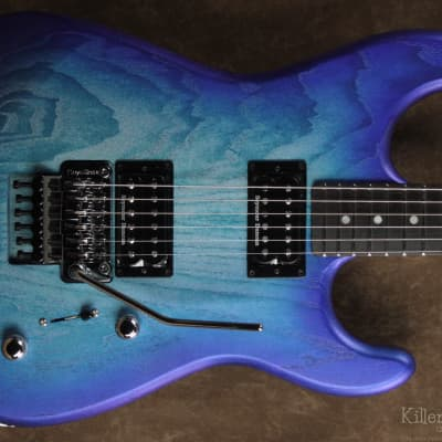G&L Custom Shop Invader XL  Blue Ice Frost for sale