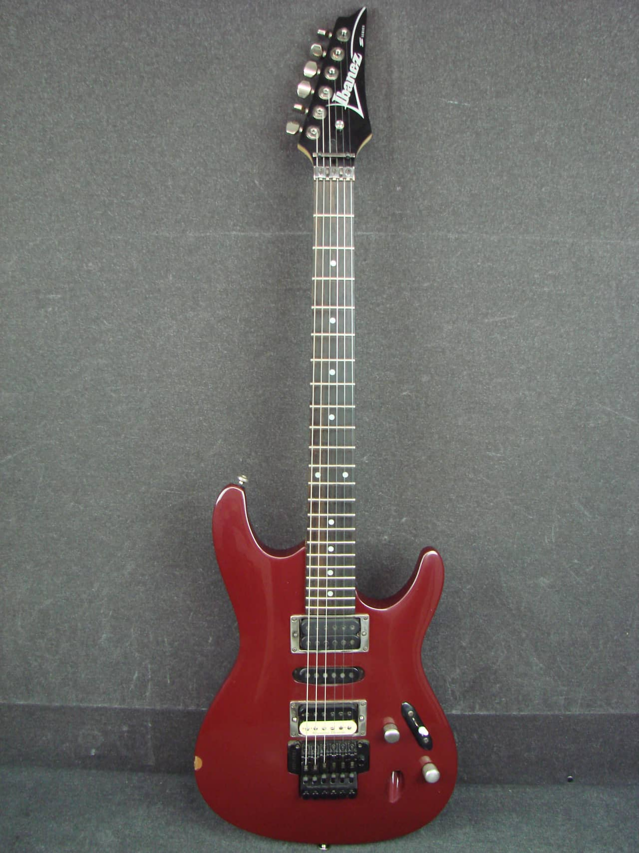 Ibanez S Series S470 Red Electric Guitar w/ Upgraded Seymour | Reverb