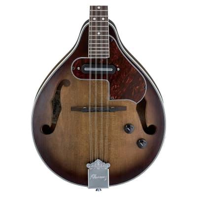 Ibanez M510EOVS A-Stryle Acoustic/Electric Mandolin Bundle