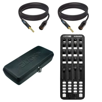 "Allen & Heath Xone:K2 Professional DJ MIDI Controller + Allen & Heath Xone:K1 Professional USB DJ MIDI Controller and (2) Mogami Gold TRSXLRF-03 Balanced 1/4"" to XLR Female Patch Cable - 3'"