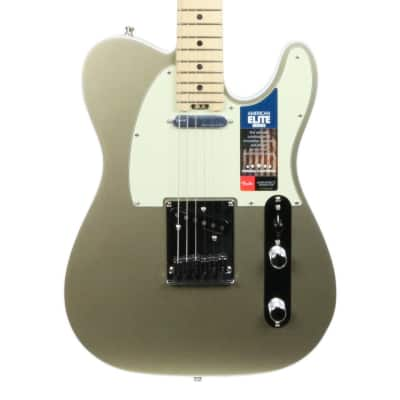 Used Fender American Elite Telecaster Maple - Champagne 2017