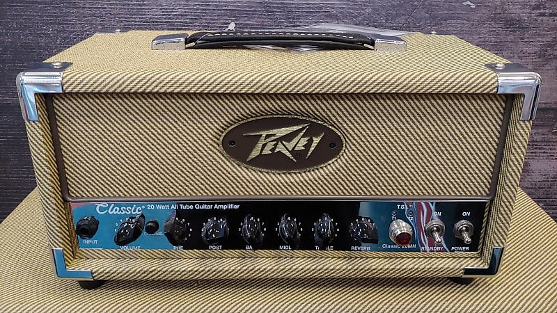 peavey classic 20mh and 1x12 cab tweed reverb. Black Bedroom Furniture Sets. Home Design Ideas