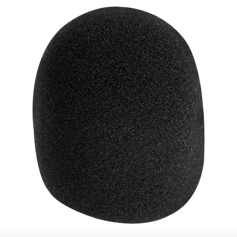 On-Stage ASWS58-B Foam Microphone Windscreen Black