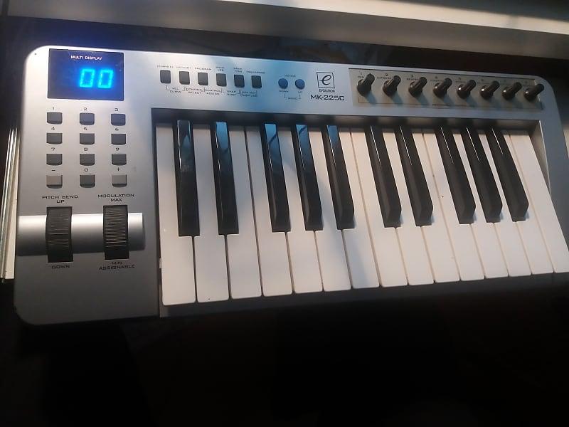 Evolution Mk-225C USB midi controller keyboard