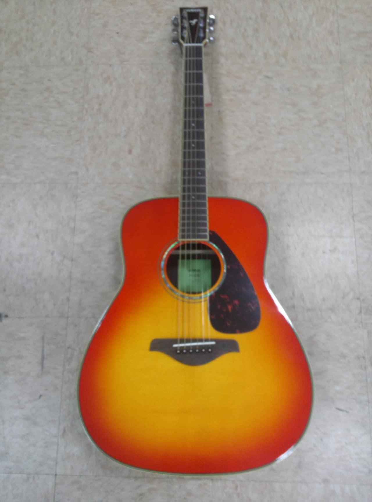 Yamaha fg830 acoustic guitar autumn burst reverb for Yamaha fg830 specs