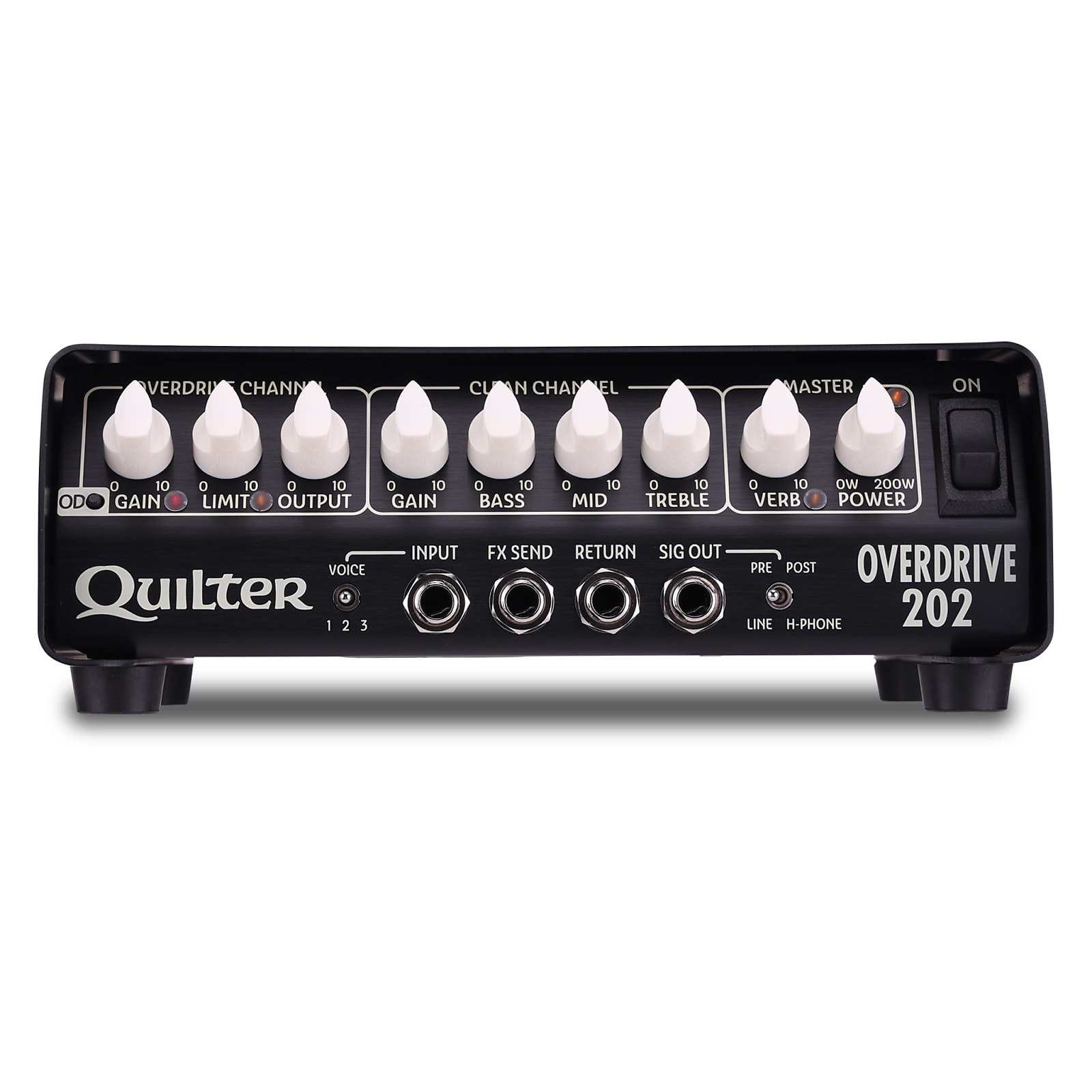 Quilter Overdrive 202 200W 2-Channel Guitar Amplifier Head