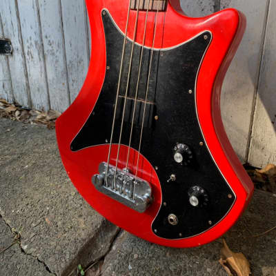 Guild B-301 Bass Mahogany for sale