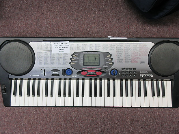 NEW DRIVERS: CASIO CTK-551 MIDI