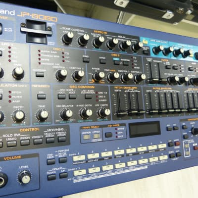 Roland JP-8080 in astounding condition with Roland S4M-5 4MB 5 Volt Smartmedia Card