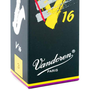 Vandoren SR723 V16 Series Tenor Saxophone Reeds - Strength 3 (Box of 5)