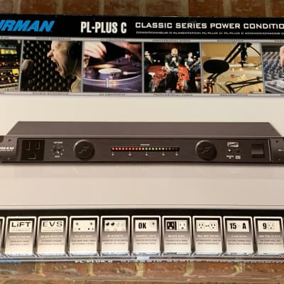 Furman PL-PLUS C Power Conditioner w/ Voltmeter