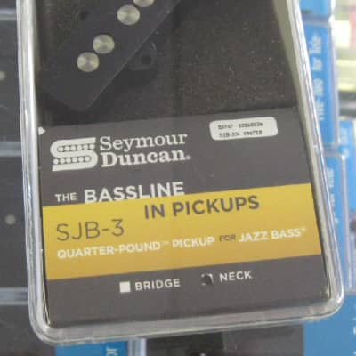 Seymour Duncan Quarter Pound Jazz Bass Neck Pickup No Logo SJB-3n image