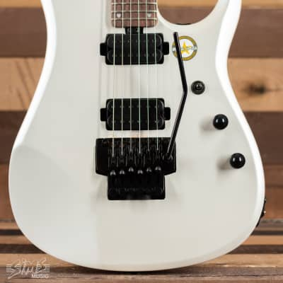 Sterling John Petrucci JP160 Signature Model With Bag, Pearl White - C-Stock for sale