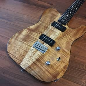 Brown Bear Guitars Koa telecaster TV Jones T90s for sale