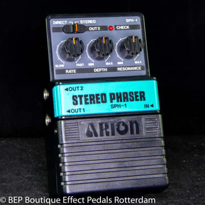 Arion SPH-1 Stereo Phaser s/n 900082 mid 80's Japan