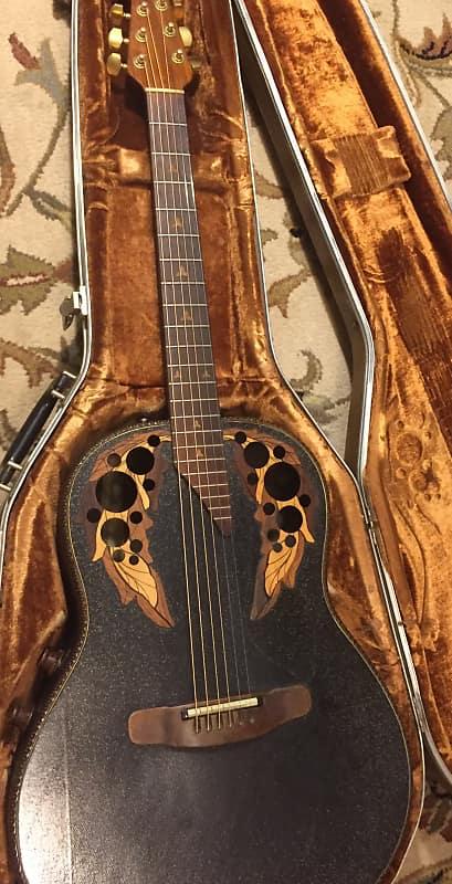 Vintage Ovation Adamas Carbon Acoustic Guitar Reverb