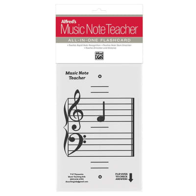 Alfred's Music Note Teacher: All-In-One Flashcard