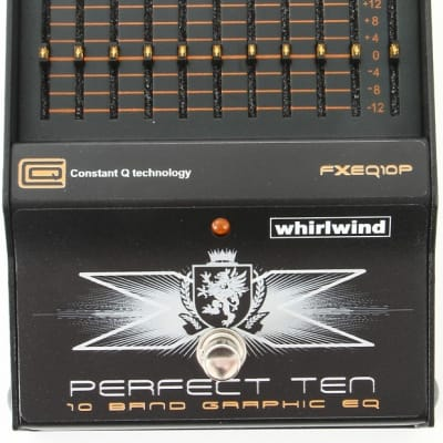 Whirlwind Perfect Ten 10-band Graphic EQ Pedal for sale