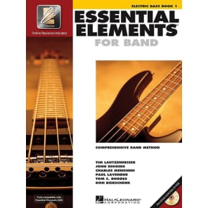 Hal Leonard Essential Elements for Band - Electric Bass Book 1 with EEi