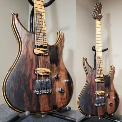 Barlow Guitars Raven 2018 Mun Ebony/Pale Moon Ebony for sale