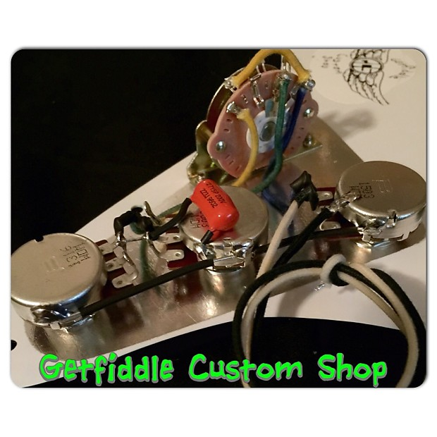stevie ray vaughan reproduction wiring harness fender   reverb  reverb