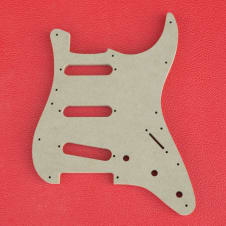Stratocaster Pickguard Luthier Template 1954-1959-1963-Present  8 Hole and 11 Hole Strat