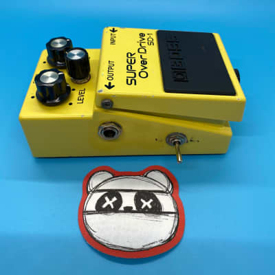 Boss sd-1 Super over drive | W/Clipping Mod | Fast Shipping!