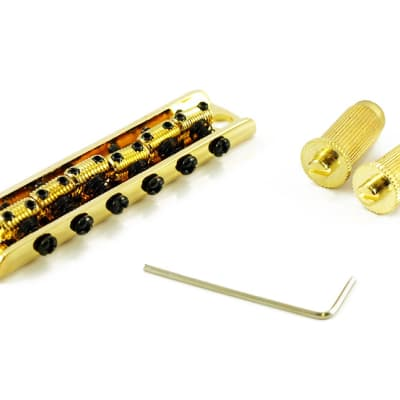 WD Music 6 Saddle Bridge For Bigsby® Gold