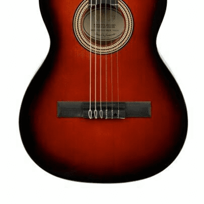Valencia 260 3/4 Size Hybrid Thin Neck Acoustic Guitar - Sunburst - VC263HCSB
