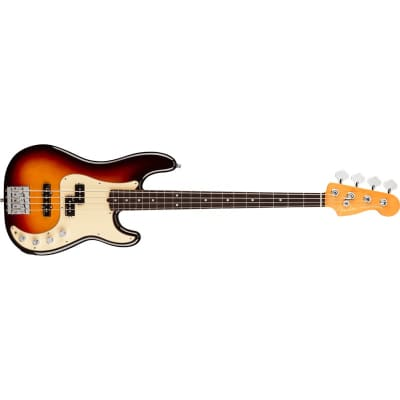 Fender American Ultra Precision Bass, Rosewood Fingerboard, Ultraburst for sale