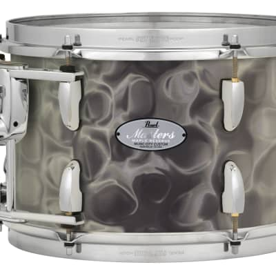 "Pearl Music City Custom 14""x12"" Masters Maple Reserve Series Tom Drum  w/optimount MRV1412T - Satin Grey Sea Glass"