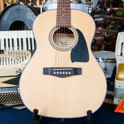 Revival Rg-8 Glossy Three-Quarter Size Mahogany Dreadnaught Guitar for sale