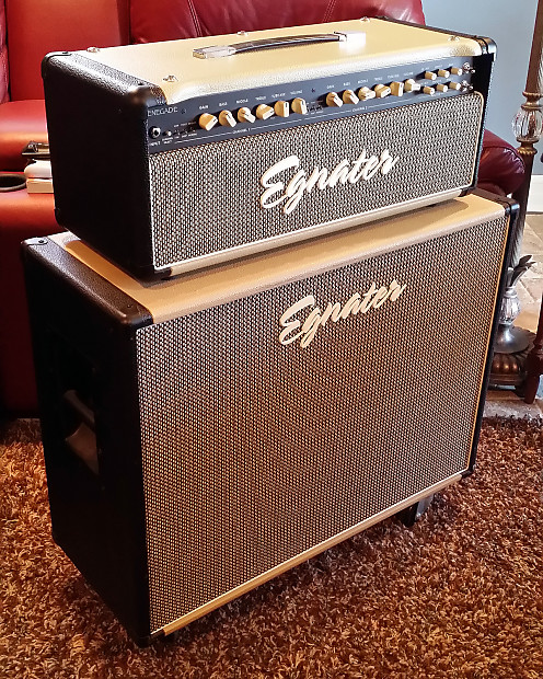 egnater renegade 65w tube head w cover and matching egnater reverb. Black Bedroom Furniture Sets. Home Design Ideas