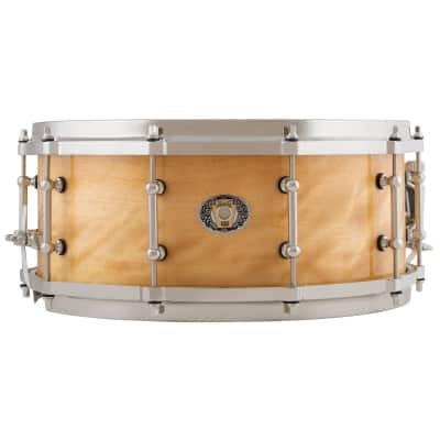 Ludwig 110th Anniversary Classic Maple Exotic Avodire Snare Drum 14x5.5