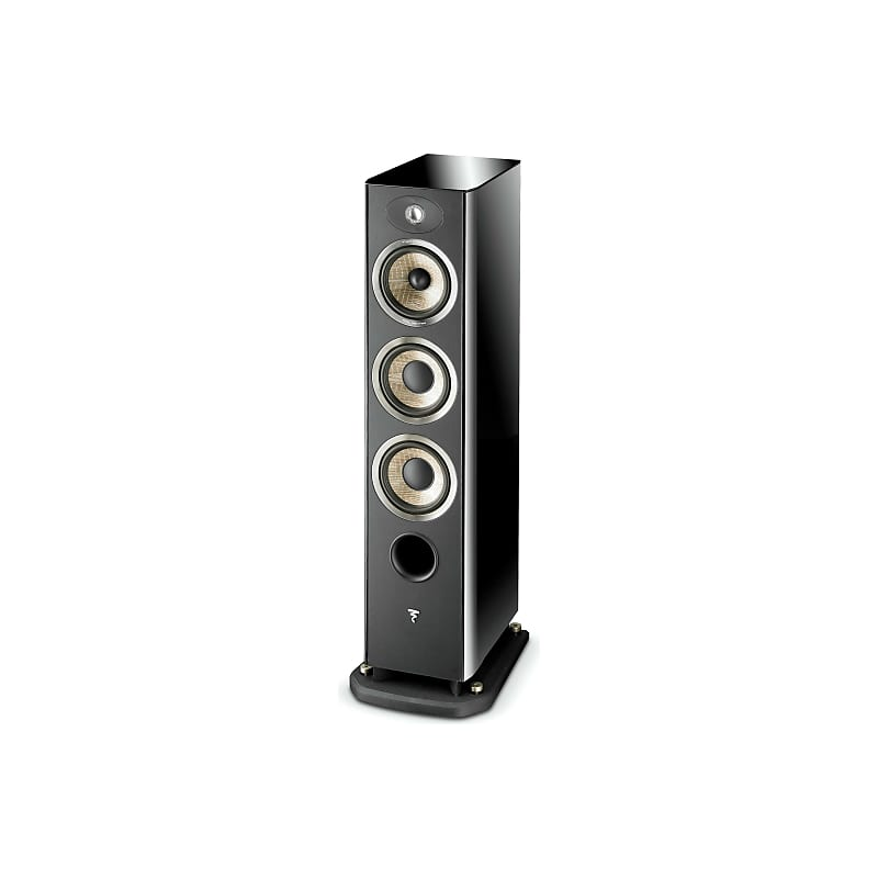 Focal 926 3-Way Floor Standing Speaker Pair - Black