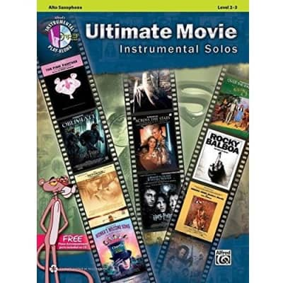 Ultimate Movie Instrumental Solos - Alto Saxophone | Level 2-3 (w/ CD)