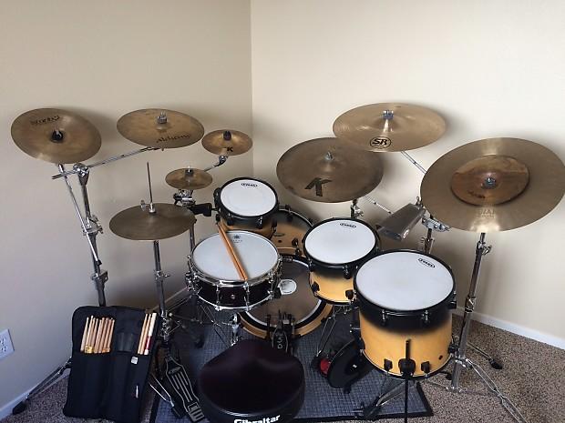 Drums For Sale >> Rmv Drums Concept Series Satin Natural Black Fade Reverb