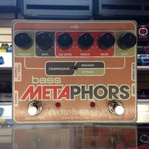 Electro-Harmonix Bass Metaphors Channel Strip Pedal